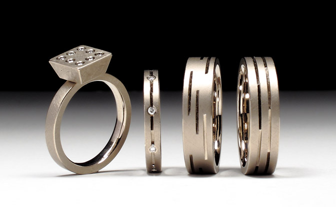 Geoffrey D. Giles a group of gold wedding bands