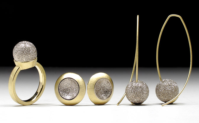 Geoffrey D. Giles a series of gold jewelry